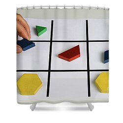 Alzheimers Puzzle Shower Curtain by Photo Researchers, Inc.