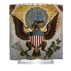 America - Great Seal Shower Curtain by Granger