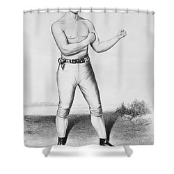 American Boxer, 1860 Shower Curtain by Granger
