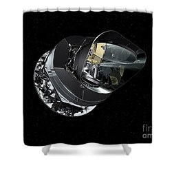 An Artists Concept Of The Planck Shower Curtain by Stocktrek Images