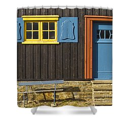 Ancient Frontage Shower Curtain by Heiko Koehrer-Wagner