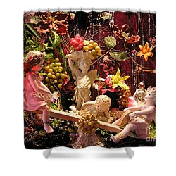 Angel Love Shower Curtain by Anthony Wilkening