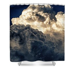 Angels And Demons Shower Curtain by Syed Aqueel