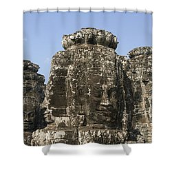 Angkor Thom IIi Shower Curtain by Gloria & Richard Maschmeyer