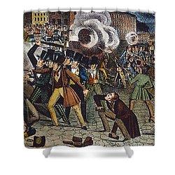 Anti-catholic Mob, 1844 Shower Curtain by Granger