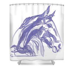 Apple Soft  Shower Curtain by Go Van Kampen