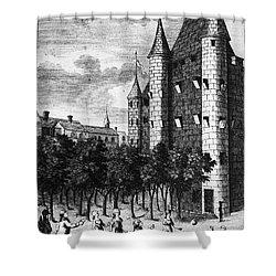 Aristocrat Prisoners, C1793 Shower Curtain by Granger