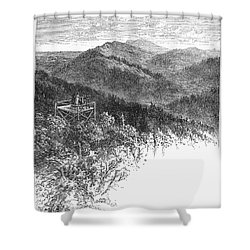 Arkansas: Mountains, 1878 Shower Curtain by Granger