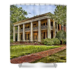 Arlington House Shower Curtain by Lianne Schneider