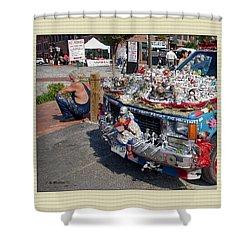 Art Car Shower Curtain by Brian Wallace