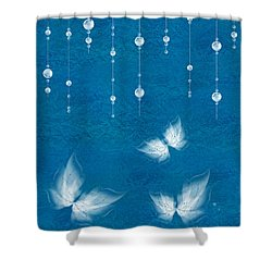 Art En Blanc - S11dt01 Shower Curtain by Variance Collections