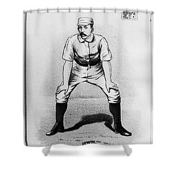 Arthur Irwin (1858-1921) Shower Curtain by Granger