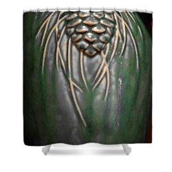 Artistic Pine Cone Vase Shower Curtain by LeeAnn McLaneGoetz McLaneGoetzStudioLLCcom