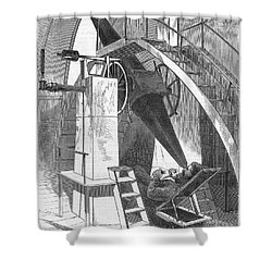 Astronomer, 1869 Shower Curtain by Granger