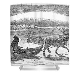 Aurora Borealis, 1833 Shower Curtain by Granger