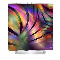 Aurora Borealis Shower Curtain by Kim Sy Ok