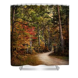 Autumn Forest 2 Shower Curtain by Jai Johnson