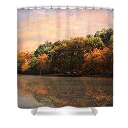 Autumn Reflections 2 Shower Curtain by Jai Johnson
