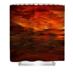 Autumn's Grace Shower Curtain by Lourry Legarde