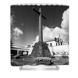 Azorean Chapel Shower Curtain by Gaspar Avila