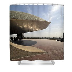 Baghdad, Iraq - A Great Dome Sits At 12 Shower Curtain by Terry Moore