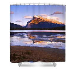 Banff National Park, Alberta, Canada Shower Curtain by Carson Ganci