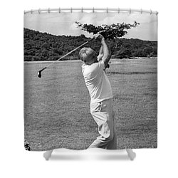 Barry Goldwater (1909-1998) Shower Curtain by Granger