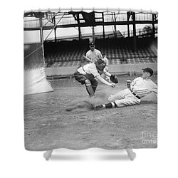 Baseball Game, C1915 Shower Curtain by Granger
