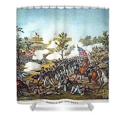 Battle Of Atlanta, 1864 Shower Curtain by Granger