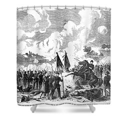 Battle Of The Chickahominy Shower Curtain by Granger