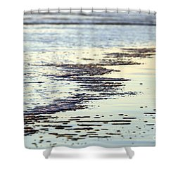 Beach Water Shower Curtain by Henrik Lehnerer