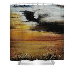 Beautiful Beginnings Shower Curtain by Carla Carson