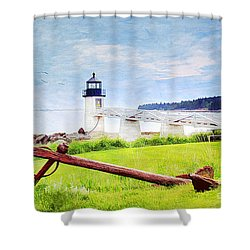 Beautiful Maine Shower Curtain by Darren Fisher