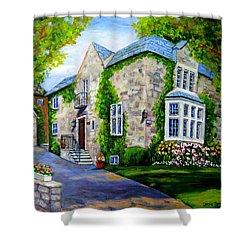 Beautiful Westmount Home Shower Curtain by Carole Spandau