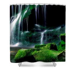 Beauty Of West Virginia Shower Curtain by Darren Fisher