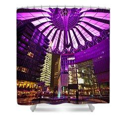 Berlin Sony Center Shower Curtain by Mike Reid