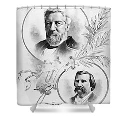 Blaine: Election Of 1884 Shower Curtain by Granger