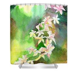 Blessings 1 Shower Curtain by Anil Nene