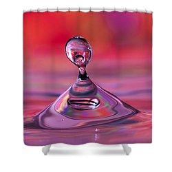 Bloop Shower Curtain by Darren Fisher