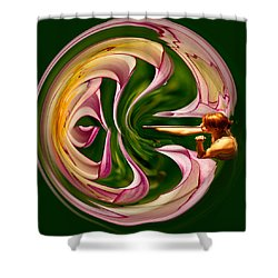 Blowing Up The World. Shower Curtain by Jean Noren