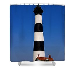 Bodie Island Lighthouse Outer Banks Nc Shower Curtain by Susanne Van Hulst