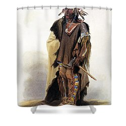 Bodmer: Sioux Chief Shower Curtain by Granger
