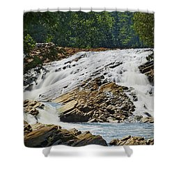Bonnechere Falls Shower Curtain by Phill Doherty