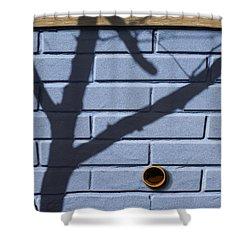 Boo Shower Curtain by Paul Wear