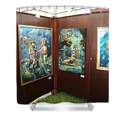 Booth 4 Shower Curtain by Patrick Anthony Pierson