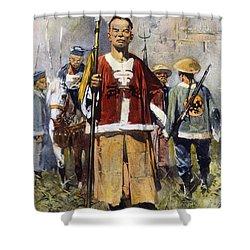 Boxer Rebellion, 1900 Shower Curtain by Granger