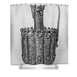 Brass Ewer, C1250 Shower Curtain by Granger