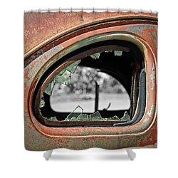 Breaking Through Time Shower Curtain by Steve McKinzie