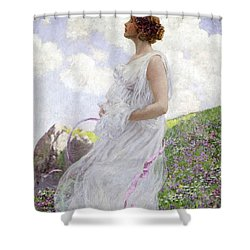 Calypso Shower Curtain by George Hitchcock