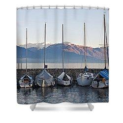 Cannobio - Italy Shower Curtain by Joana Kruse